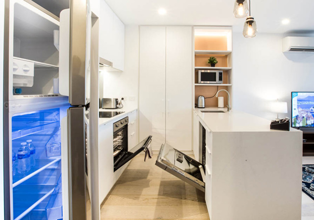 short stay accommodation West Melbourne