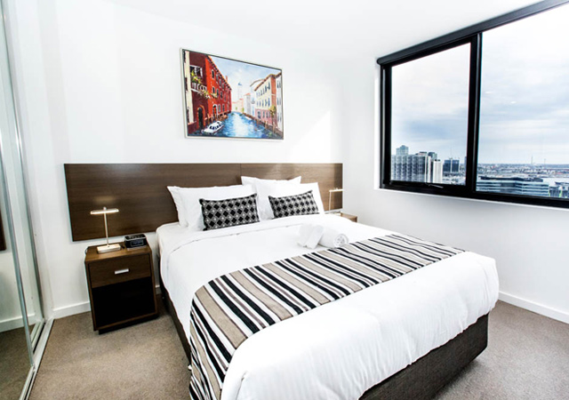 Serviced apartment west Melbourne
